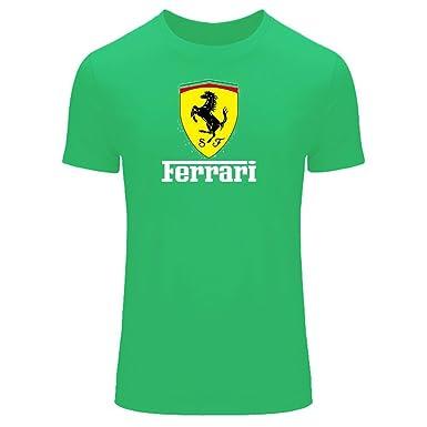 f4fce25d Amazon.com: Ferrari for 2016 Mens Printed Short Sleeve Tops t Shirts:  Clothing