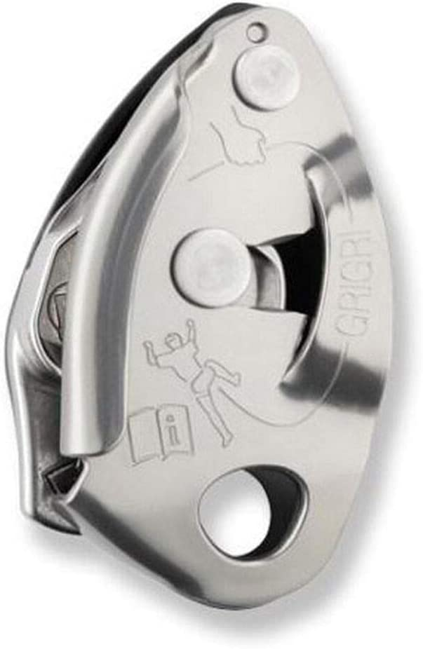 PETZL Grigri 2 Belay Device Grey One Size : Sports & Outdoors