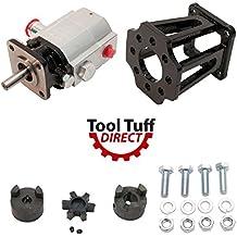 "MTD Log Splitter Build Kit: 11 GPM Pump, Coupler, Mount, Bolts, O-Ring Fitting (For 3/4"" Engine Crankshaft)"