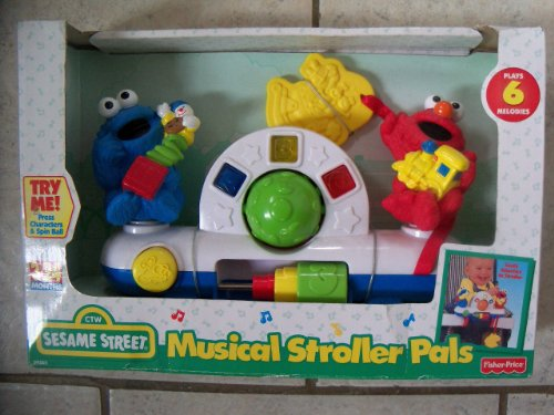 Fisher-Price Sesame Street Musical Stroller Pals [1998]
