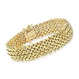 Ross-Simons Italian 14kt Yellow Gold Riso Bracelet