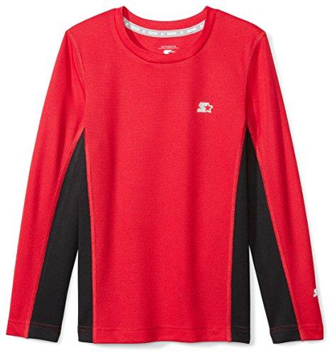 Starter Boys Long Sleeve Colorblocked Tech T-Shirt, Amazon Exclusive