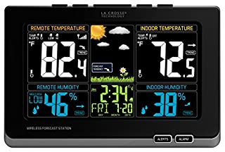 La Crosse Technology 308-1414MB-INT Wireless Color Weather Station with Mold Indicator, Black (B00NMRZEU4) | Amazon Products