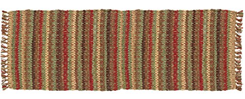 Earthtones Table Runner in Brown, Red and Green