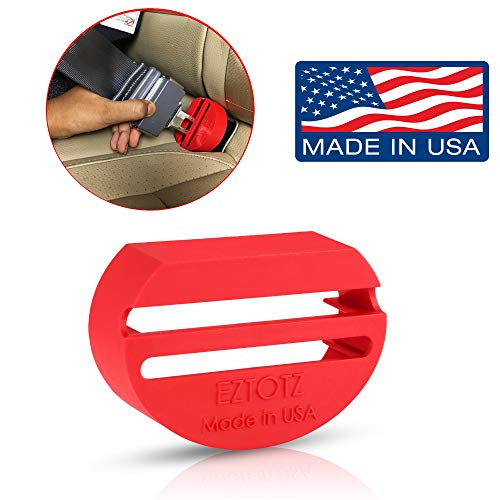 (1 Pack) eZtotZ BuckleShield Seatbelt Buckle Cover - Made in USA - Prevents Children from Accidentally Unbuckling or Releasing Seatbelt - Premium Buckle Cover Heavy Duty Plastic- Universal Fit