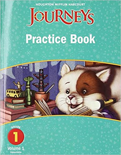 Journeys practice book consumable volume 1 grade 1 houghton journeys practice book consumable volume 1 grade 1 1st edition by houghton mifflin fandeluxe Image collections