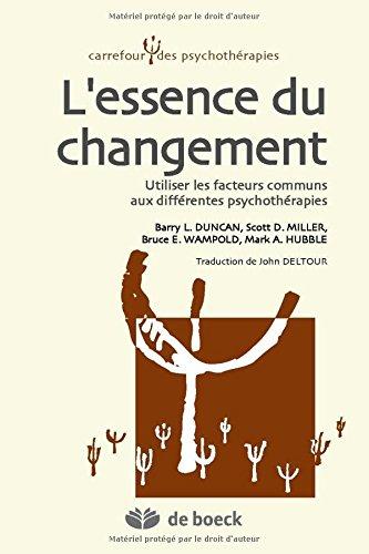Amazon.com: Lessence du changement : Utiliser les facteurs ...