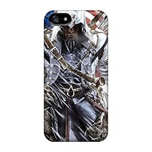 [QaB1527MZDY] - New Assassins Creed 3 Connor Kenway Protective Iphone 5/5s Classic Hardshell Case