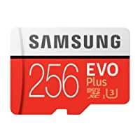 Samsung MC256GA/APC 256GB Evo Plus Class 10 UHS-I microSDXC U3 with Adapter