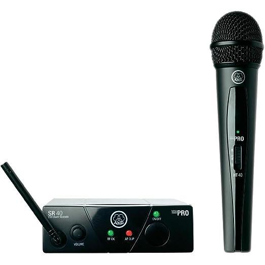 40 opinioni per AKG WMS 40 mini vocal set radio microfono wireless per palestre hotel scuole