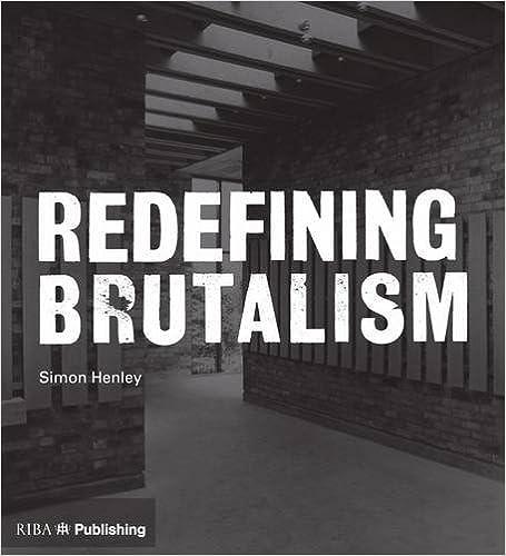 Redefining Brutalism book cover