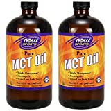 Cheap Now Foods MCT Oil, 32 Ounce (Pack Of 2)