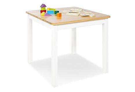 Pinolino 201433 mesa infantil Fenna, color blanco: Amazon ...