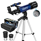 Emarth Telescope, Travel Scope, 70mm Astronomical