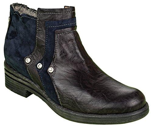 Charme, Stivali donna multicolore nero/blu