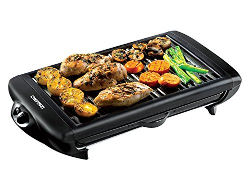 Chefman-Electric-Smokeless-Indoor-Grill-XL-Non-Stick-Cooking-Surface-w-Adjustable-Temperature-Knob-from-Warm-to-Sear