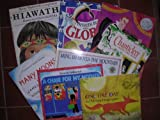 Caldecott Preschool Picture Books Box Set of 8 ; Zin, Ming Lo, One fine day, Hiawatha, Officer Buckle, Chanticleer, Many Moons, A Chair for my mother