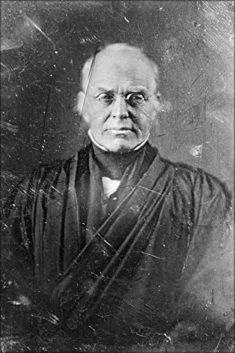 Poster Daguerreotype Of Supreme Court Justice Joseph Story. 1844