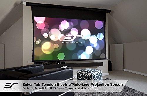 Elite Screens Skt110uh E12 Auhd Saker Tab Tension 110