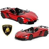 【 RASTAR ラスター  RC  1/12 スーパーカー ラジコン 】   ランボルギーニ アヴェンタドール J イオタ    ( Lamborghini  Aventador R/C ) レッド