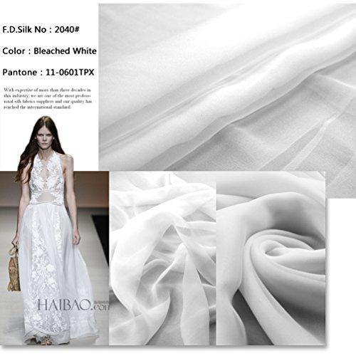 Chiffon 100% Silk Sheer - 7