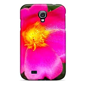 Galaxy S4 Case, Premium Protective Case With Awesome Look - Flower