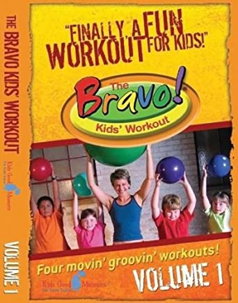 Amazon The Bravo Kids Workout DVD Good Manners