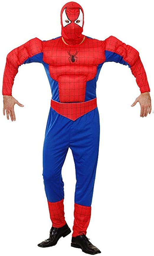 Cosplay Ropa Spiderman Adulto Anime Disfraz Muscle Clothes Hero ...