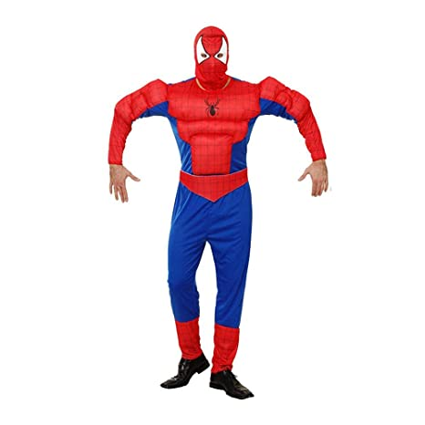 werty Cosplay Ropa Spiderman Adulto Anime Disfraz Muscle ...