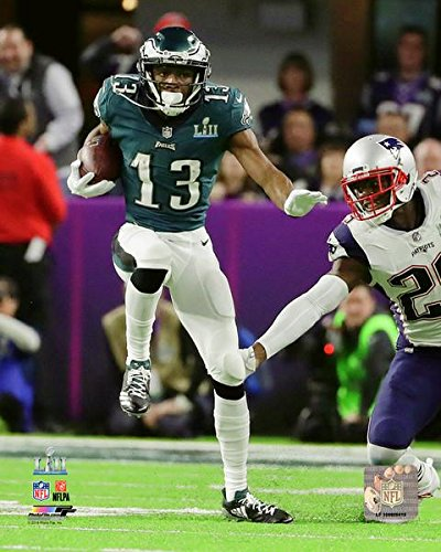 "Nelson Agholor Philadelphia Eagles Super Bowl LII Photo (Size: 8"" x 10"")"