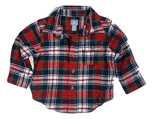baby-gap-baby-boys-unisex-soft-button-down-flannel-shirt-12-18-months-29-31-in-red-green