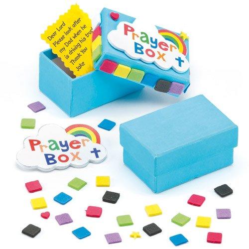 Baker Ross Prayer Craft Box Kits for Children to Make & Decorate (Pack of 3) ()