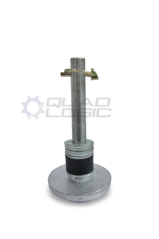 Moose Utilities ATV/UTV Plow Replacement Plow Skid Shoe Kit M91-50021 by Quad Logic