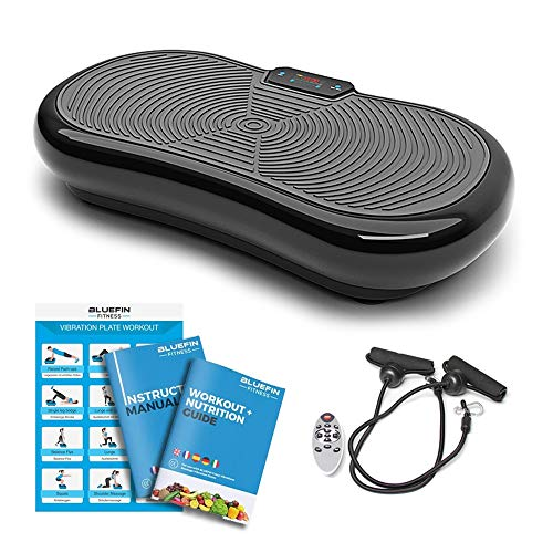 Bluefin Fitness Vibration Plate Ultra Slim 1000 Watts with Bluetooth...