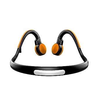 MJW Auriculares Inalámbricos Bluetooth, Conducción Ósea Bluetooth Auriculares Inalámbricos De Hueso Estéreo De Toque De