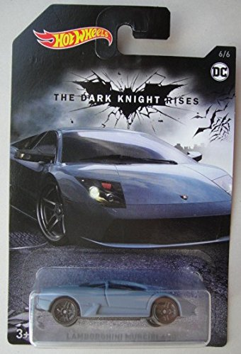 Hot Wheels THE DARK KNIGHT RISES LAMBORGHINI MURCIELAGO 6/6