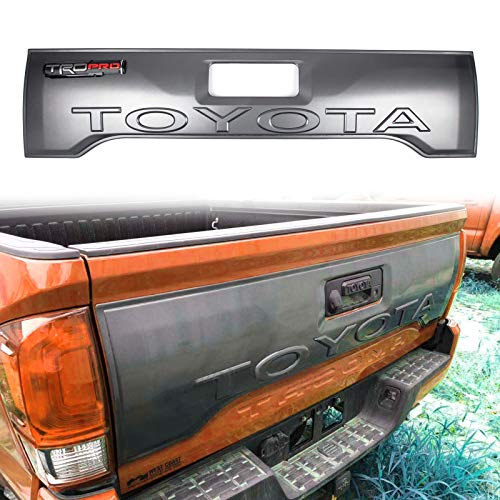 - Artudatech For Tacoma TRD 06-19 Cover Tail Gate Applique Rear Trim Panel w/TRD Logo