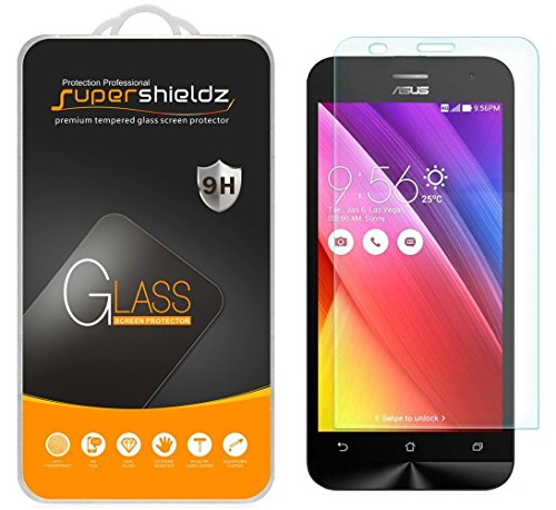 [2-Pack] Supershieldz for Asus (ZenFone 2 Deluxe) [ZE551ML] Tempered Glass Screen Protector, Anti-Scratch, Anti-Fingerprint, Lifetime Replacement