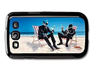 AMAF ? Accessories Daft Punk Cocktails Sitting on the Beach case for Samsung Galaxy S3