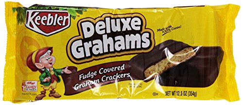 Keebler, Fudge Shoppe Deluxe Grahams Cookies, 12.5 oz