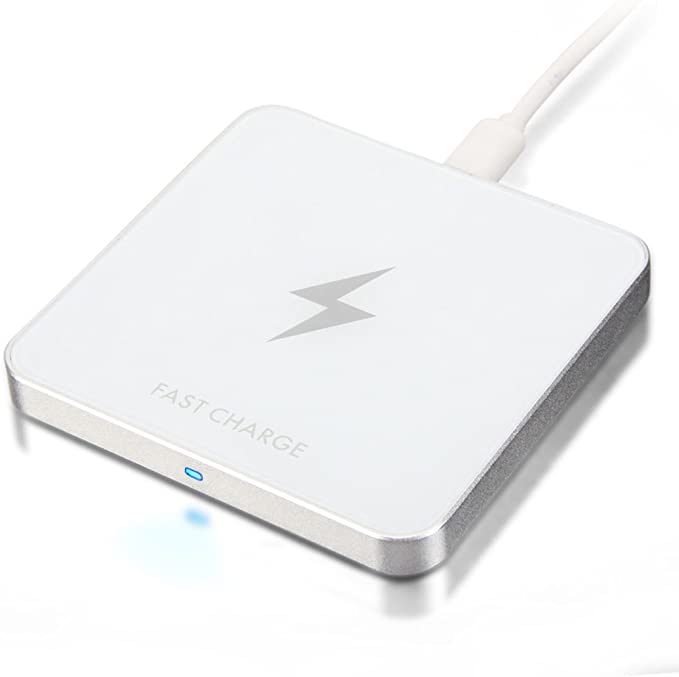 les mieux notés dernier nouvelle version haut fonctionnaire GMYLE 10W Qi Chargeur sans Fil Fast Charge Chargeur Rapide ...