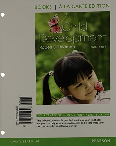 Child Development, Books a la Carte Plus NEW MyPsychLab with eText -- Access Card Package (6th Edition)