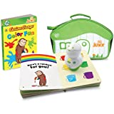 Leap Frog Tag Junior Curious George Book & Carrying Case