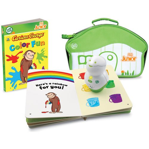 Leap Frog Tag Junior Curious George Book & Carrying Case by Leap Frog