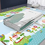 Baby Play Mat Soft Rug Carpet, Thickened Baby Foam Nursery Rug, Double-Sided Waterproof Portable Baby Crawling Mats 78.7…