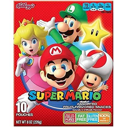 Kellogg s Super Mario Fruit Snacks: Amazon.com: Grocery ...
