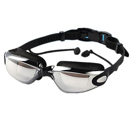 1fe0656ab87 Amazon.com   Shiratori Corrective Nearsighted Swimming Goggles(Prescription  1.5-8.0 Diopters) with Ear Plug Highest Grade UV Protection and Anti-fog ...