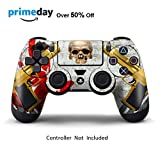 Skins for PS4 Controller - Decals for Playstation 4 Games - Stickers Cover for PS4 Slim Sony Play Station Four Controllers PS4 Pro Accessories PS4 Remote Wireless Dualshock 4 Skin - Ghost Ops