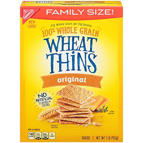 Wheat Thins Original Crackers - Family Size, 16 Ounce (Best Whole Wheat Bagels)