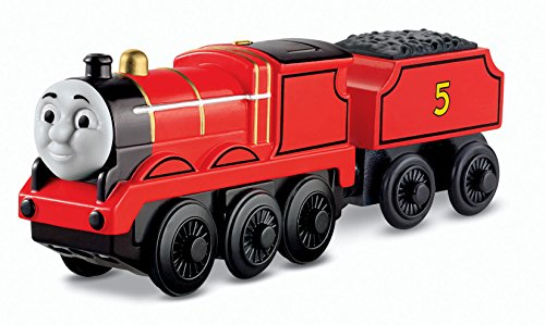 Fisher-Price-Thomas-the-Train-Wooden-Railway-Battery-Operated-James